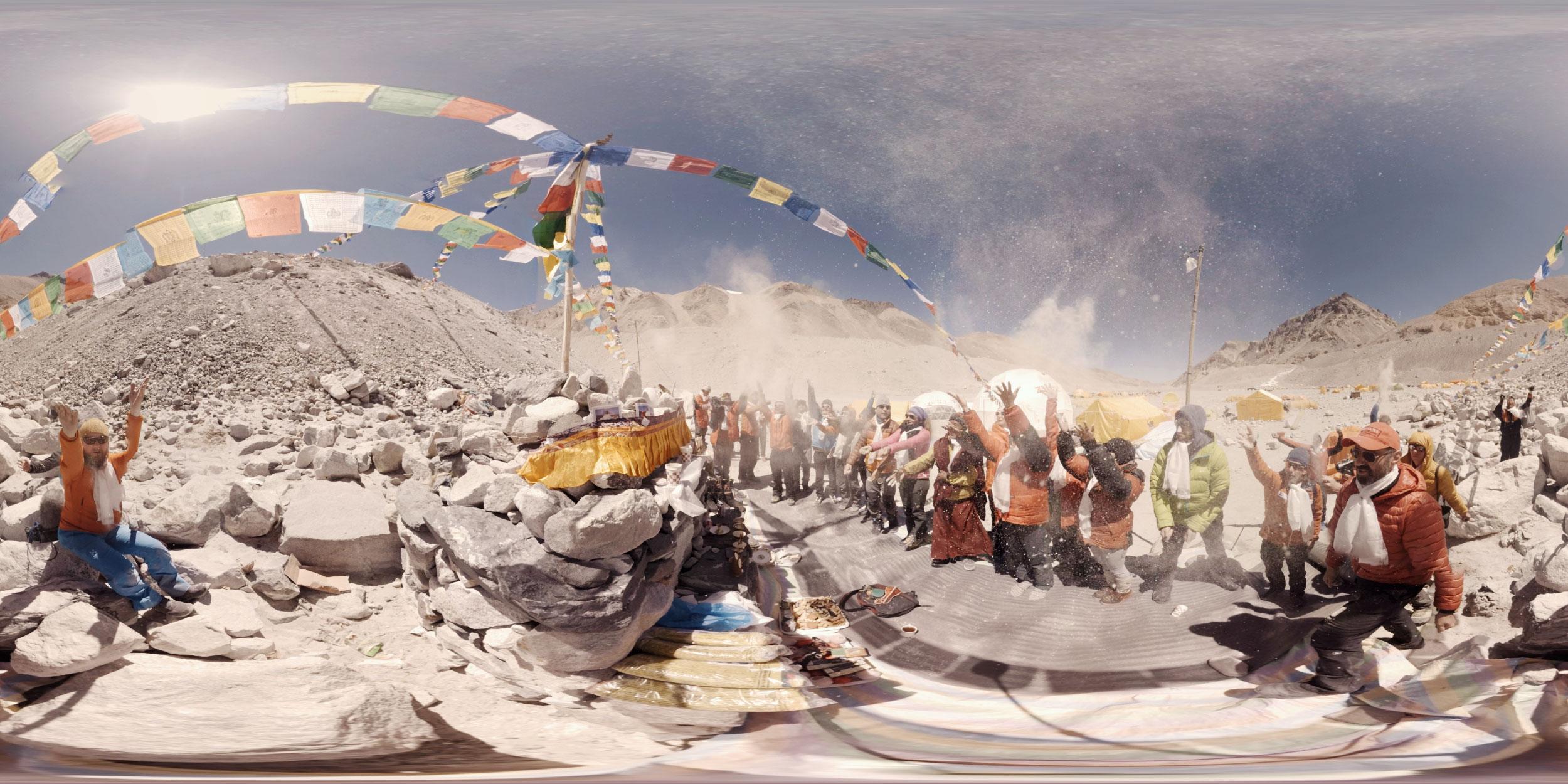 Puja ceremony VR
